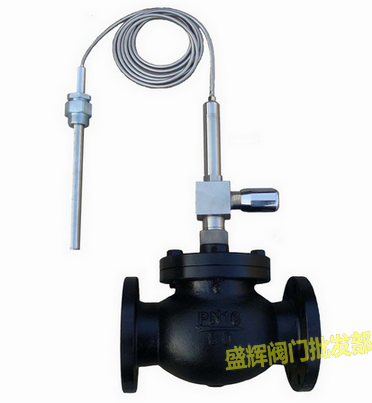 ZZWP-16C self regulating temperature control valve steam hot water oil temperature control valve DN40