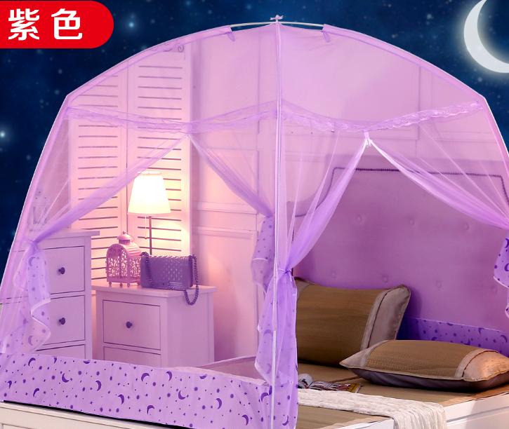 家庭用ファスナー開き暖かく大地継手蚊帳子供チューバ連体普通の小さいベッドスチールガラス繊維プリンセス