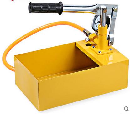 Ensayo de presión manual bomba de tubo de ensayo de presión de la presión de la bomba de agua de PPR trata de compresor de aire caliente de los bienes de equipo de detección de fugas