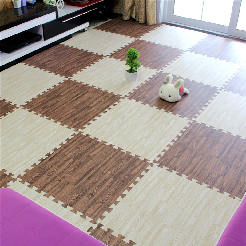College Students' dormitory mats children bedroom carpet mosaic puzzle crawling pad thickening 60 tatami floor