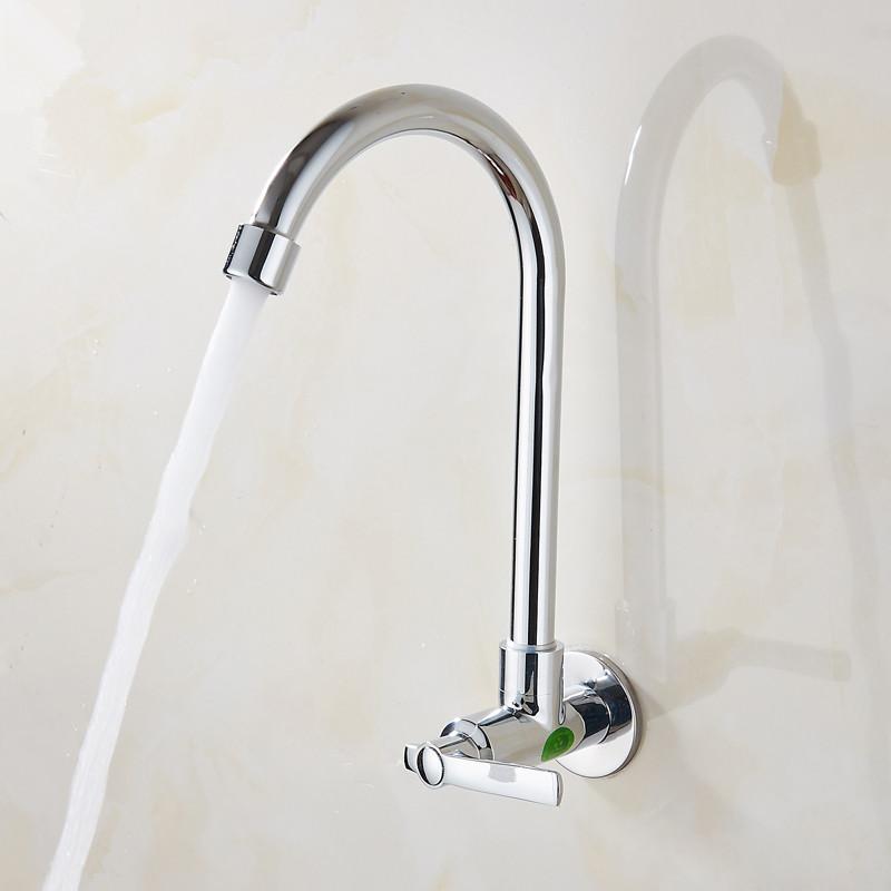 вертикальный кран на кухне одной холодной воды кран все медные керамические основных мыть овощи бассейна стиральная бассейн в стены раковина умывальник