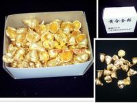 Dental materials, yellow alloy particles, Tianjin dental gold, 500 grams oral instruments, gold grain, Dentistry