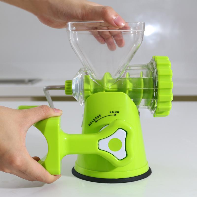 La máquina de picar carne leche vegetal de la familia manual desmontaje manual multifuncional manual automático con una picadora de carne.