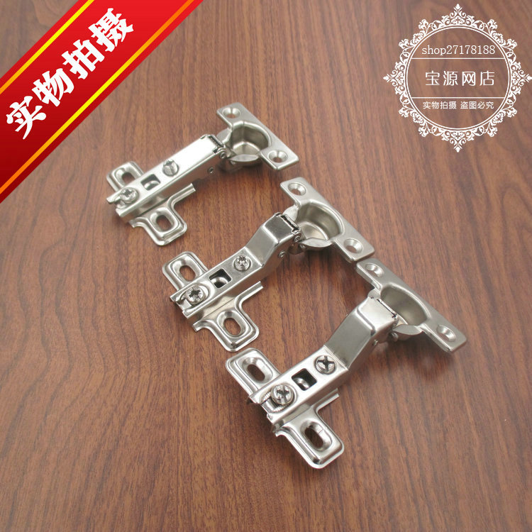 Furniture cabinet small hinge, old cupboard door hinge, old cabinet full cover hinge, old kitchen door hinge suitable for 25 holes