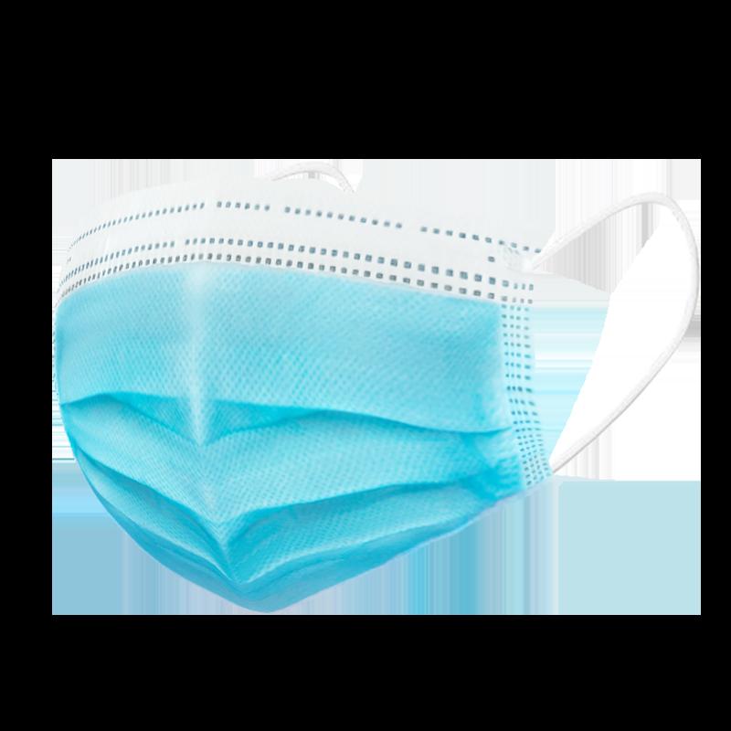 现货一次性透气无防口罩100只装三层防护国标含熔喷成人防尘薄款