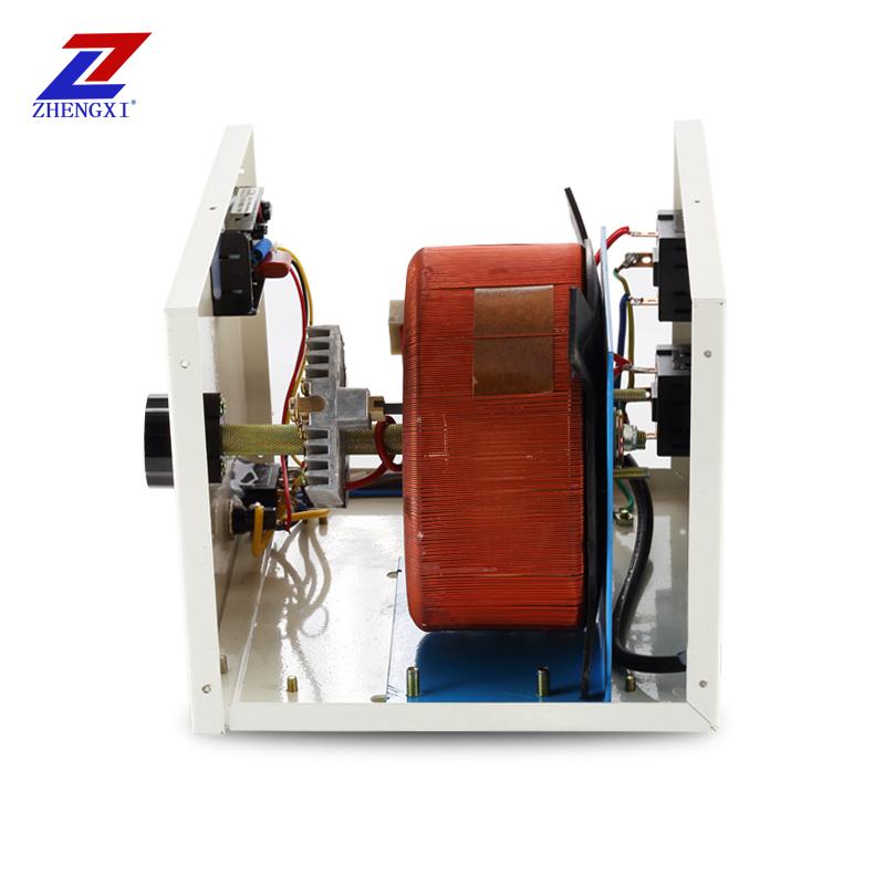 Ρυθμιστής πίεσης 2000w220v μονοφασικοί αυτόματα ρυθμιζόμενο Contact οικιακών ρυθμιστή ενέργειας 0 - 300