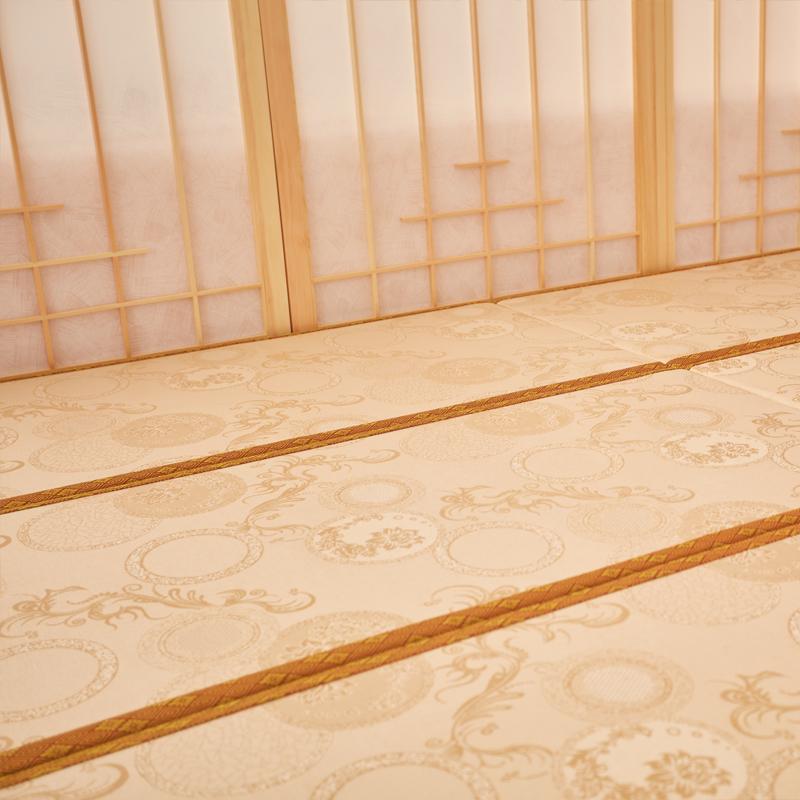 Tatami mats and custom floor m imperial rattan mat of natural coconut palm mattress Japanese ice silk mat