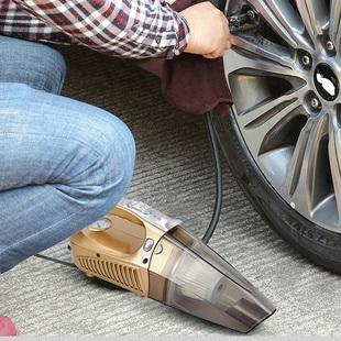 车载吸尘器充气泵干湿两用家内汽车用多功能大功率强力四合一12V