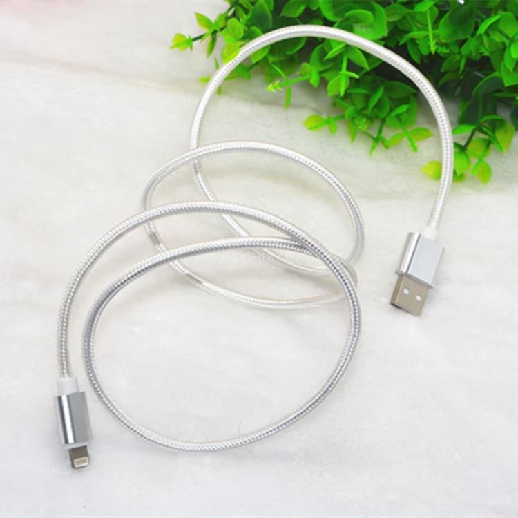 iphone6データの線を長く6 s 1 . 5メートル6plusリンゴご携帯6金属単頭ipad充電コード