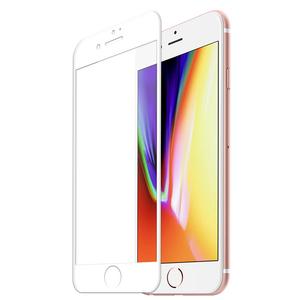 妙质苹果3D软边防碎边钢化玻璃膜iPhone6s 7plus手机全屏保护贴膜