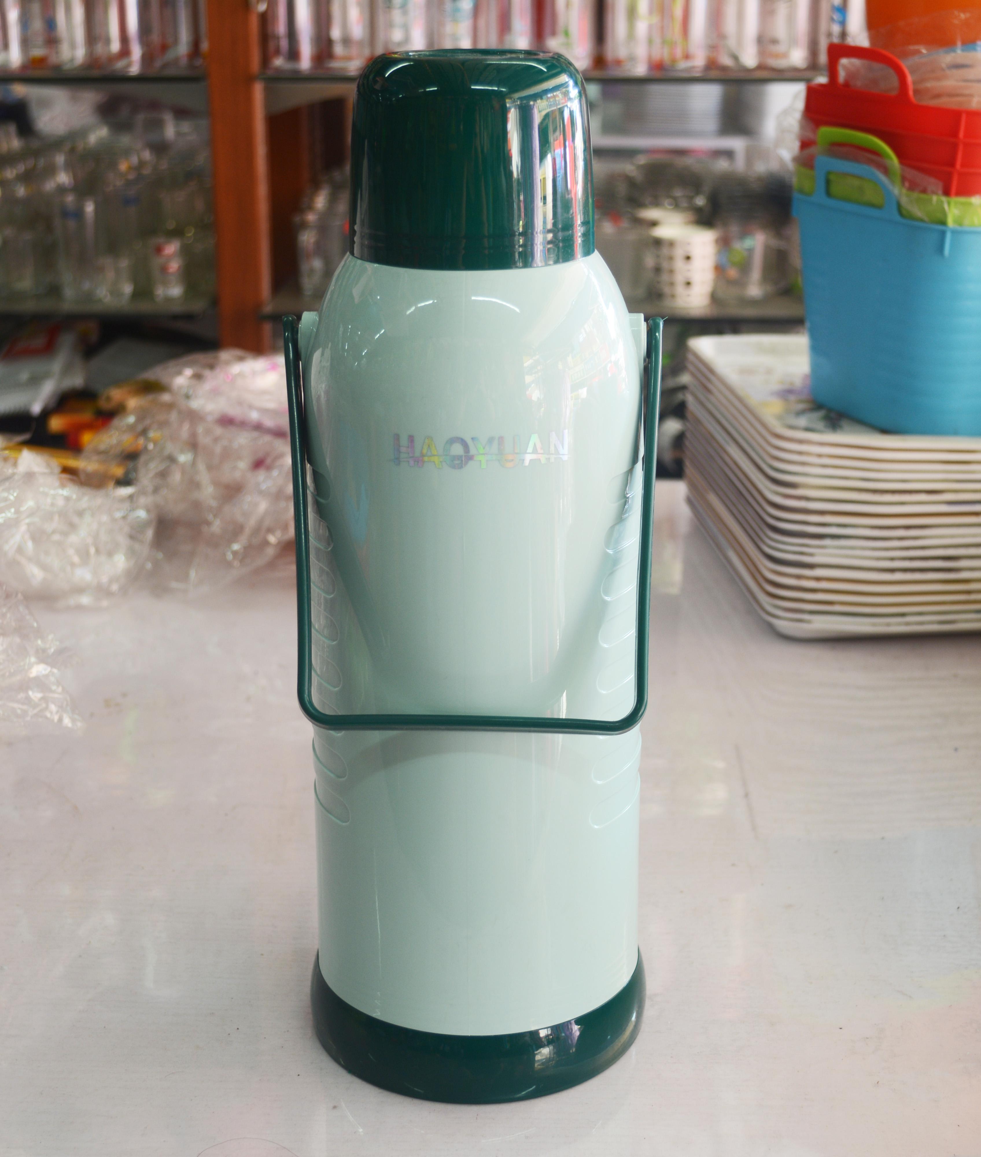 ポット浩源2リットルのプラスチックポット魔法瓶まほうびんガラス内部保温ポット