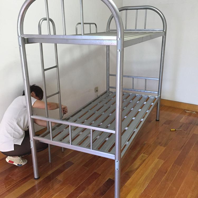 特価包郵材の二段ベッドがベッドに高低を売る露店母児童離床ベッドに下に母子ベッド全木造