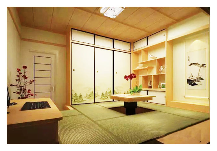Shaanxi, Xi'an factory tatami full house custom tatami bed wood partition Fumamen big promotion