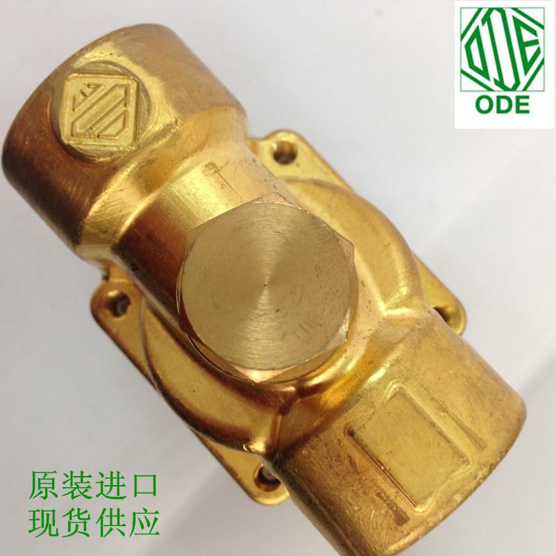 イタリアODE蒸気電磁弁21YW5K0T190黄銅線ボタンを2通常ろく分現物AC220V