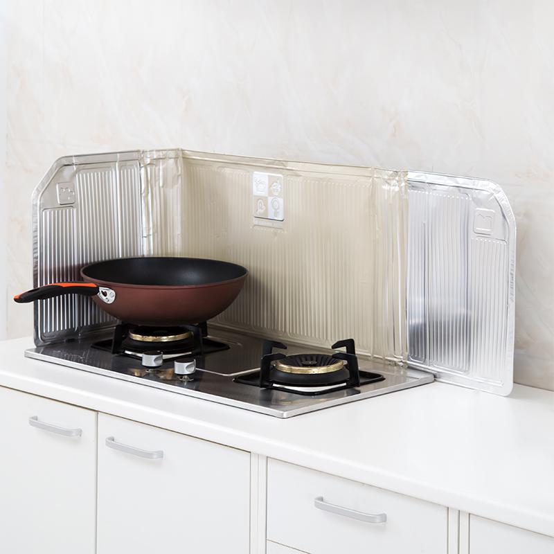 家庭用断熱速油板キッチンかまどオイル断熱アルミ箔ウォール止め金スプラッシュ防止オイルダンパ速油パッド