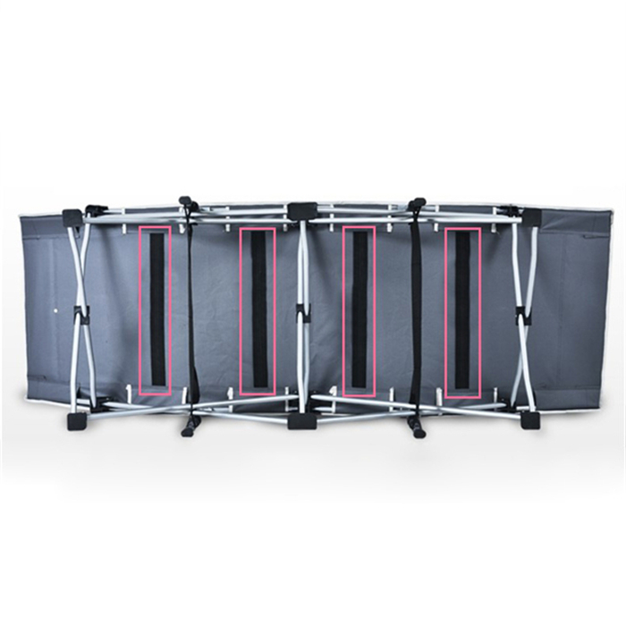 Folding bed, warm bed, travel lunch bed, simple assembling, cotton cushion disease, accompanying balcony, steel pipe nap bed