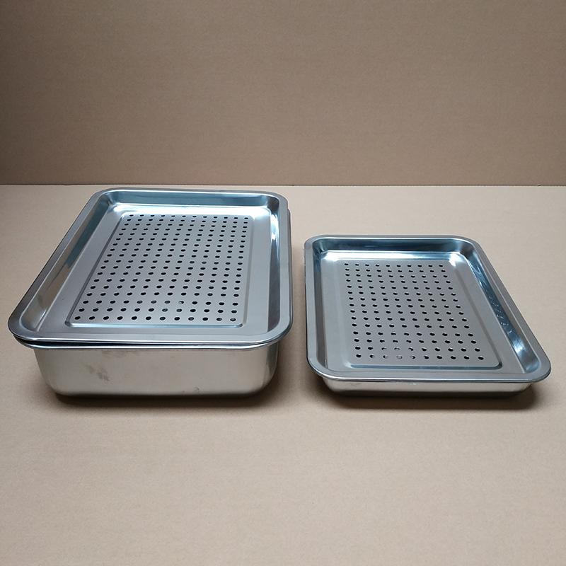 нержавеющая сталь диска утечки диск поддоном утолщение паром пельмени рыба на гриле фильтрации воды, диск фильтр диск чайный поднос