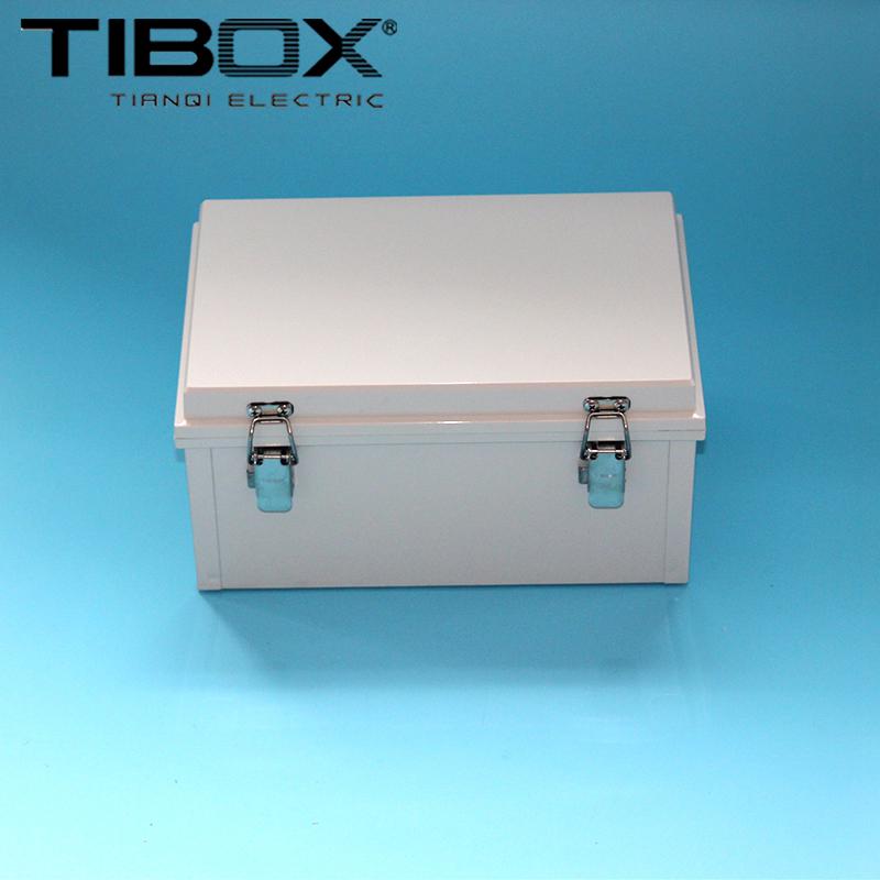 * Comercio al por mayor de 200 a 300 TIBOX * 150 impermeable de plástico de las bisagras bisagras tipo caja exterior de la Caja de control
