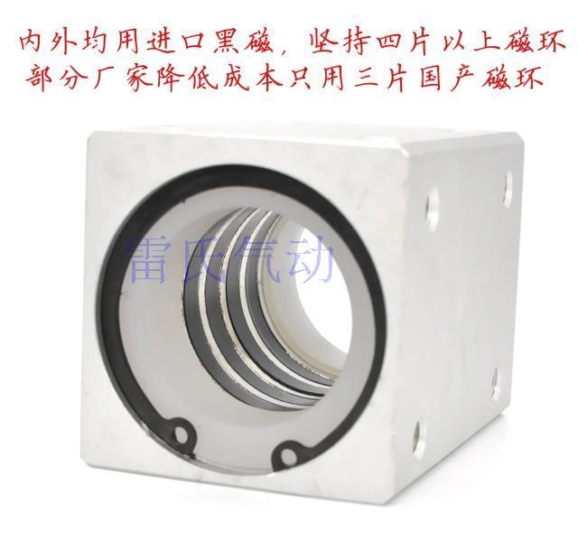CY1S40-100-200-300 / 500-800-1000SMC型磁気レンコン式無レバーシリンダ特価包郵