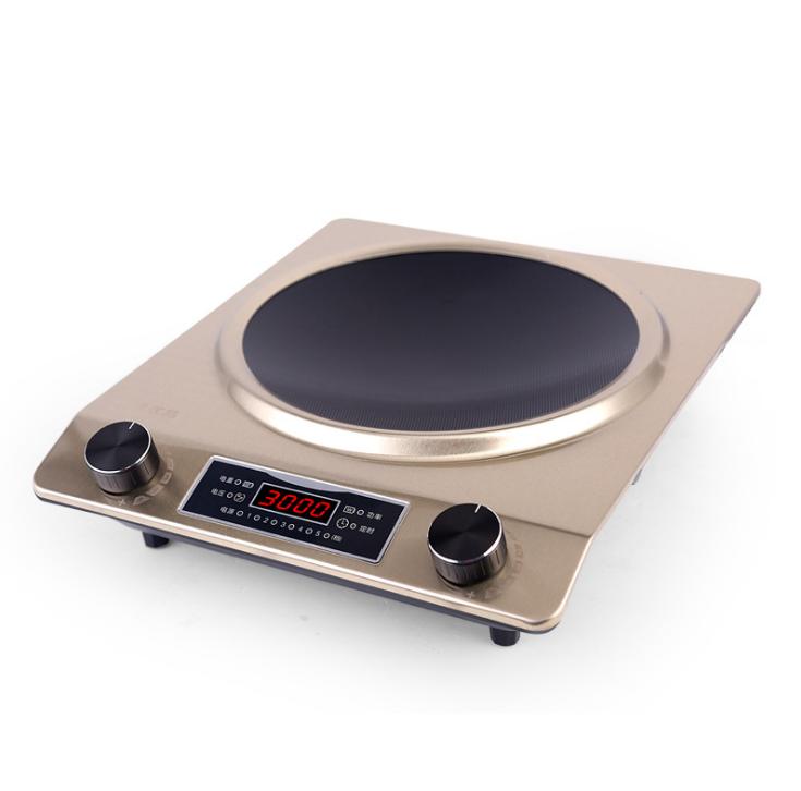 El Stoke hornos eléctricos de gran potencia electromagnética con horno cóncava especial tipo de cocina doméstica saltear 30