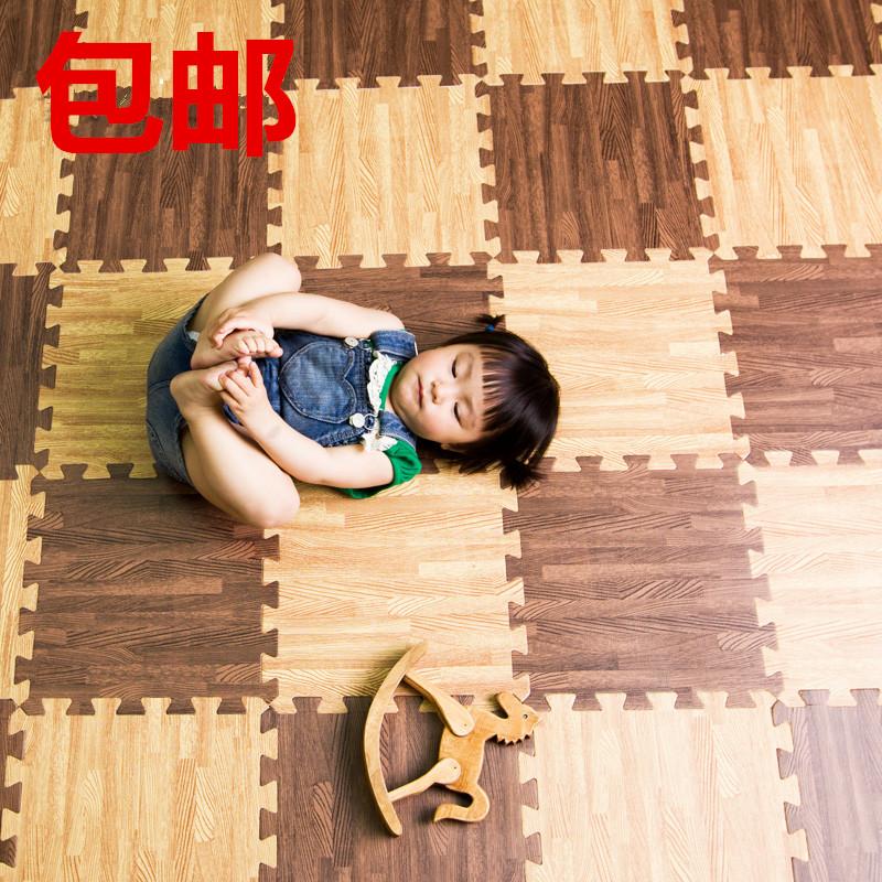 The floor mat crawling pad stitching children plastic carpet puzzle mats tatami sponge bedroom home