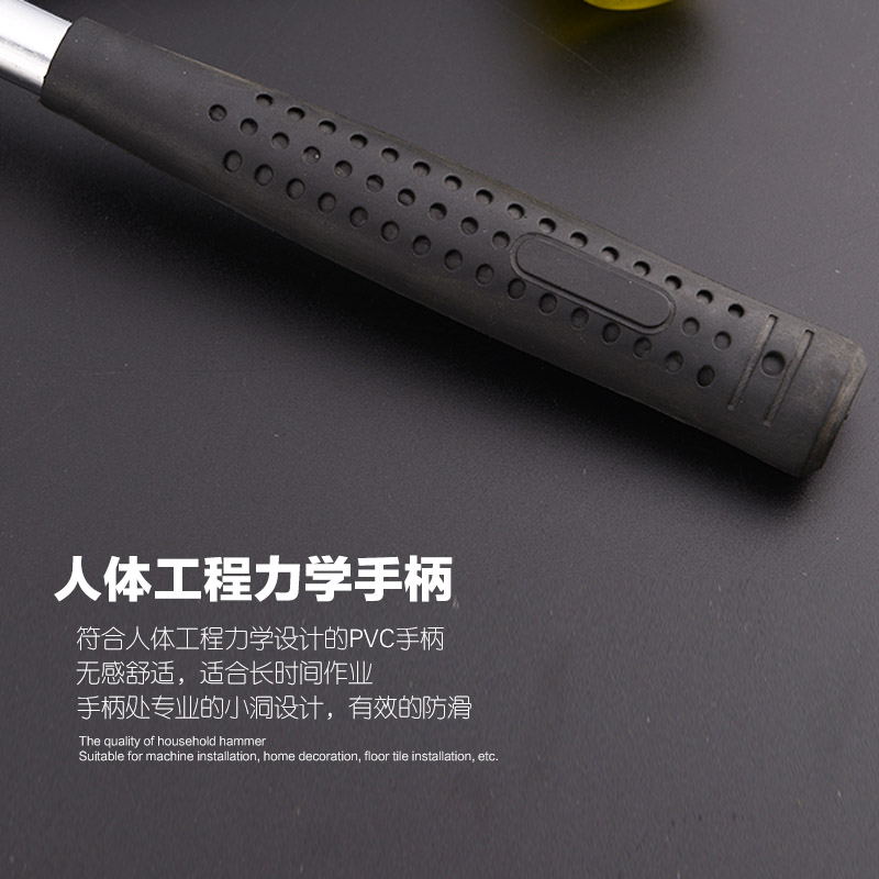 The floor decoration tools installed without elastic rubber hammer hammer hammer hammer hammer leather rubber tile size