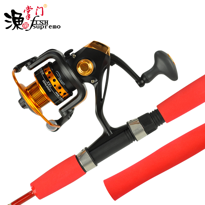 Solid sea rod soft tail rafting rod 1.5/2.1 Mira continuous rod road sub pole set of rod stem ice fishing rod