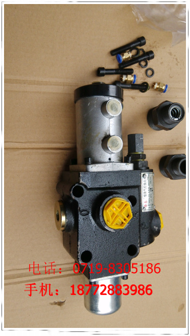 Chinese Spring slow control valve Jiangqi 34MQK-E20L, pressure 22MPA, flow 100L/min