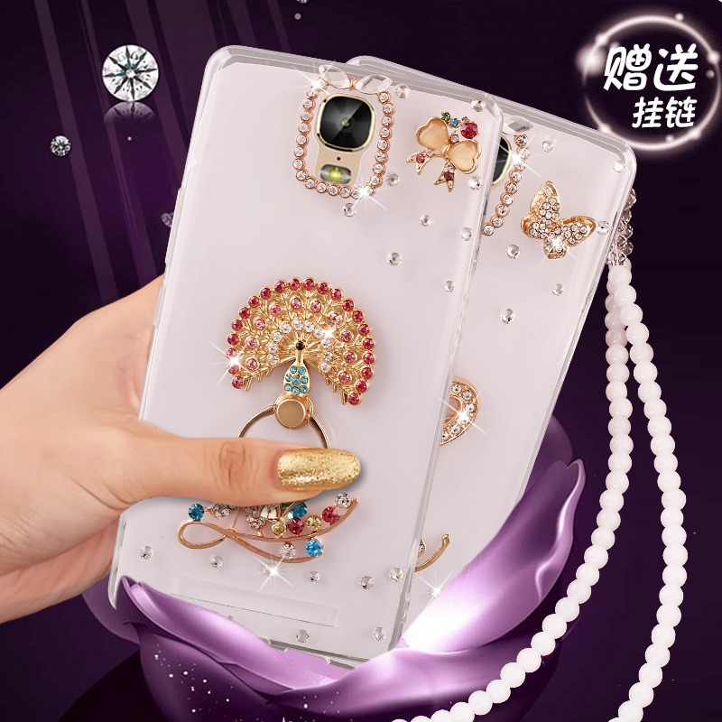 Jin m5plus mobile phone gn8001 case soft silicone fall proof shell wrapping creative lanyard female tide