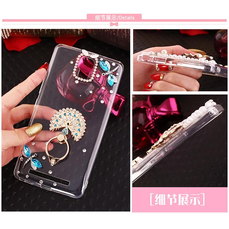 Jin M5plus mobile phone gn8001 case gn8OO1l creative diamond soft silicone GN8 transparent fashionista