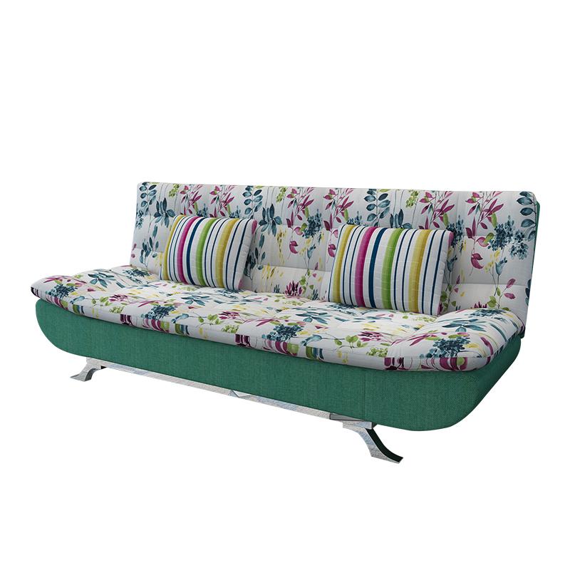 Τον καναπέ - κρεβάτι πτυσσόμενου σαλόνι διπλό ξύλινα ύφασμα απλό μικρό διαμέρισμα 1,2 m 1,5 μονό πολυλειτουργική διπλής χρήσης