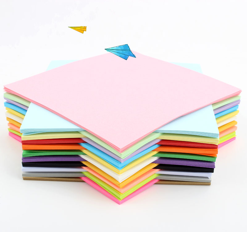 Hao Yuan origami paper color handmade paper square origami folding materials manual paper folding paper-cut children