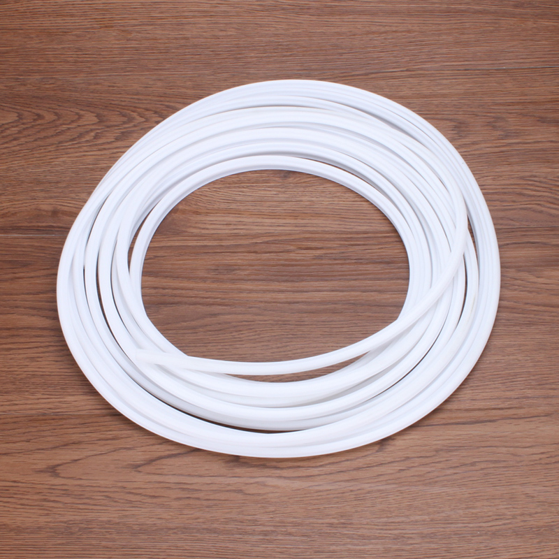 Silicon rubber sealing strip insulation flat steel doors and windows open the window windproof strip insulation type O card slot