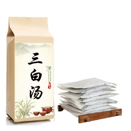 三白汤袋泡茶内服全身美白茶白术白芍茯苓甘草内调去黄祛斑三白粉