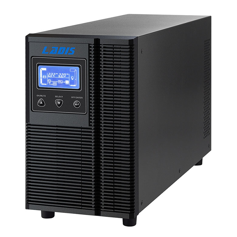 Our 1KVA Reddy 2 hour delay line UPS 800W pure sine wave output G1KL liquid crystal display