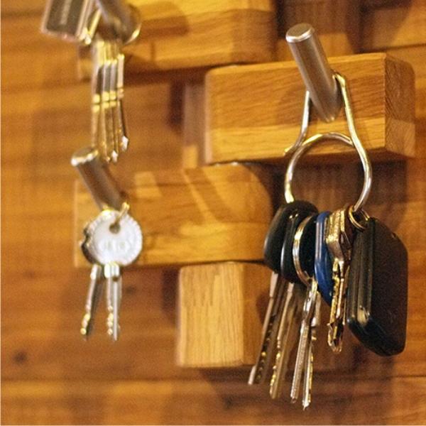 แหวนไททาเนียมที่ถอดออกได้ง่ายสามารถถอดออกได้ง่ายแหวนแขวนคีย์บอร์ดน้ำหนักเบาพิเศษของพวงกุญแจ