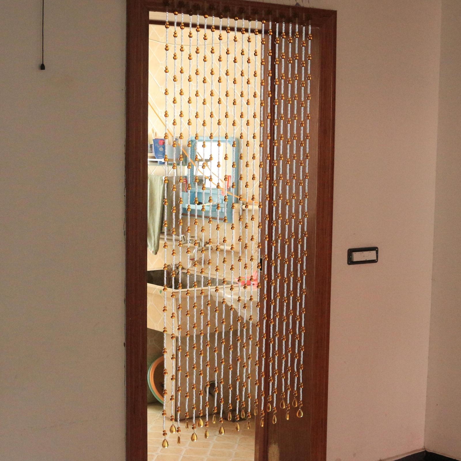 shui - kürbis - perlen schlafzimmer badezimmer wc von tür zu tür, Wohnzimmer