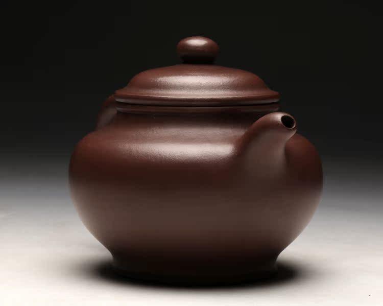 Тайван рефлекс пот Yixing Zijin Гу Jingzhou ранно лилаво саксия пълна със стари лилави глина ръчно изработени пот само пот