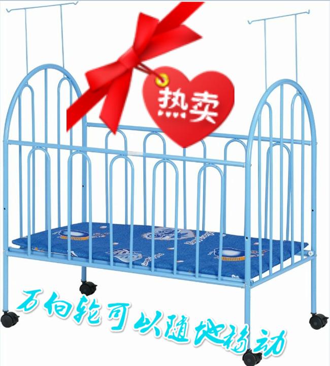 Το κρεβάτι με κουνουπιέρα, προστασία του περιβάλλοντος ξύλινο κρεβάτι παιδιού σίδερο κρεβάτι μωρό κρεβάτι ββ νεογνά λίκνο το σίδερο...