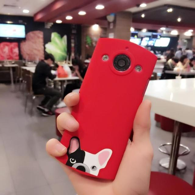 Lovely bulldog, Mito T8 mobile phone shell, M4/M6s/M8 hard shell hard shell, creative Korean personality, female red