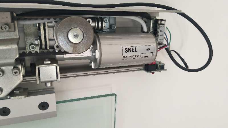 SNEL automatische deuren elektrische deur elektrische schuifdeur glazen deur automatisch op de eenheid.