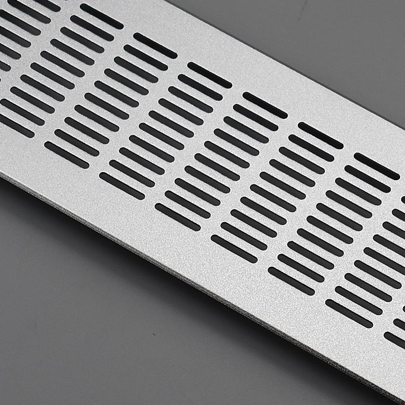 Maruix mallas de aleación de aluminio de ventilación la ventilación rectangular vestuario armarios el panel decorativo