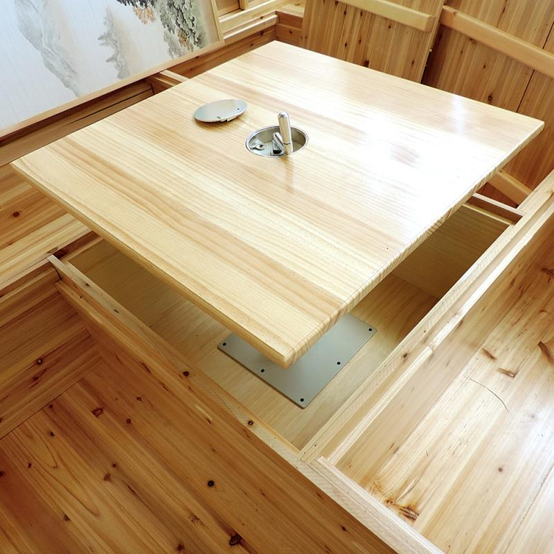 Solid wood floor tatami full house custom storage bed and the overall decoration design and installation of windows Shanghai free