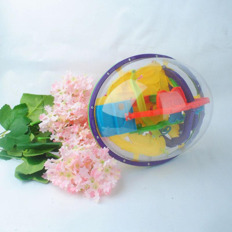 Giải đố bóng 3 chiều ảnh đĩa bay ảo mê cung bóng trí tuệ đóng quỹ đạo bóng 208 đồ chơi trẻ em người lớn