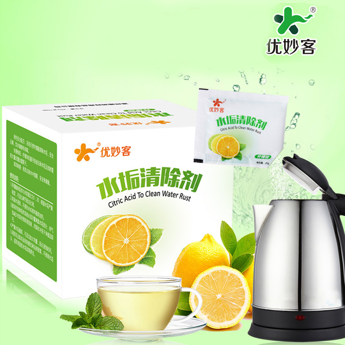 Household food grade citric acid cleaning agent, scale electric kettle, thermos detergent dispenser cleaning agent