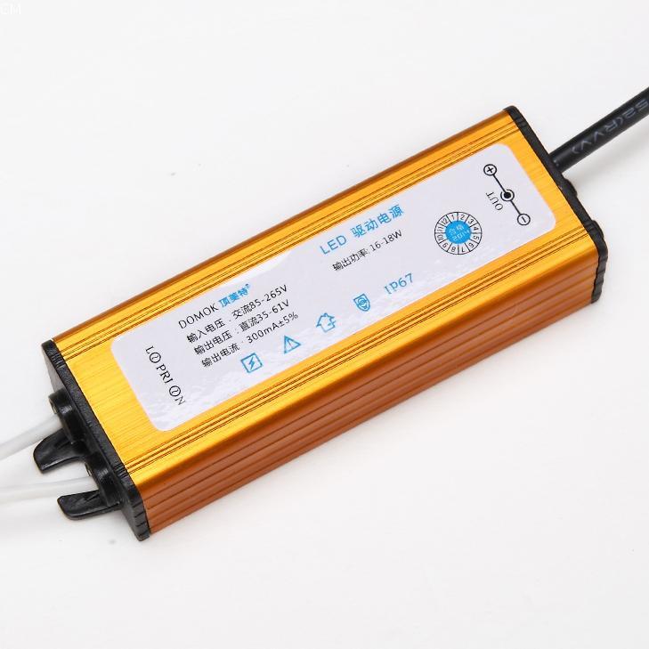 LED防水駆動電源トランス8-14 16-18 4-7Wバラストアダプタ天井ランプ電圧レギュレータ