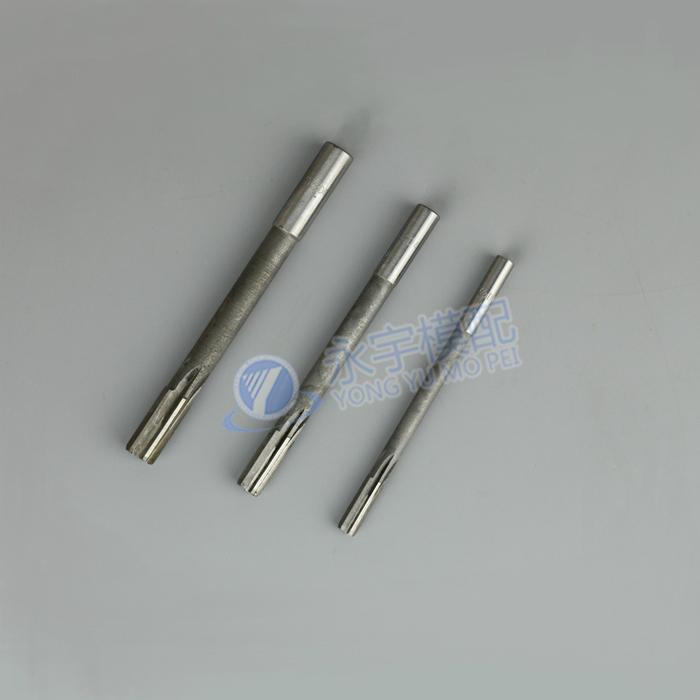 D4 precision straight shank machine white steel reamer / nonstandard reamer machine / high speed steel reamer 3.4-5.7