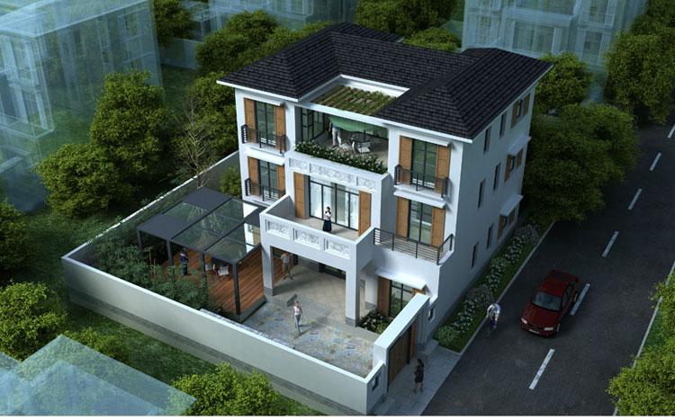 别墅设计图纸及效果图大全-24建筑别墅图纸超市图片