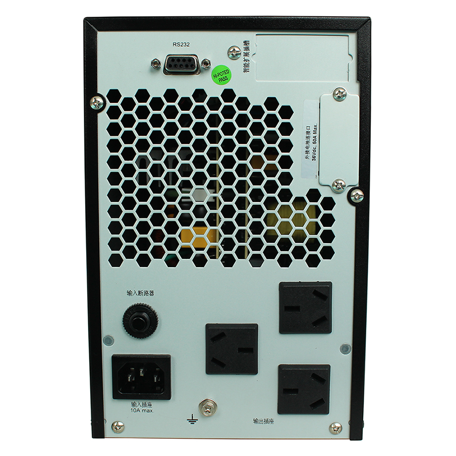 Our G1KL1KVA Reddy online UPS uninterruptible power supply 800W to extend the 4 hours 100AH battery 3