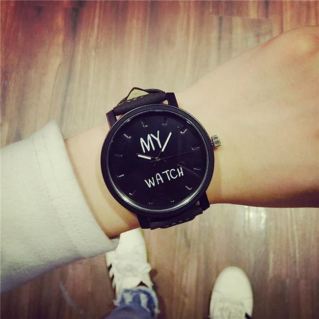 my watch黑盘(送表盒 电池)